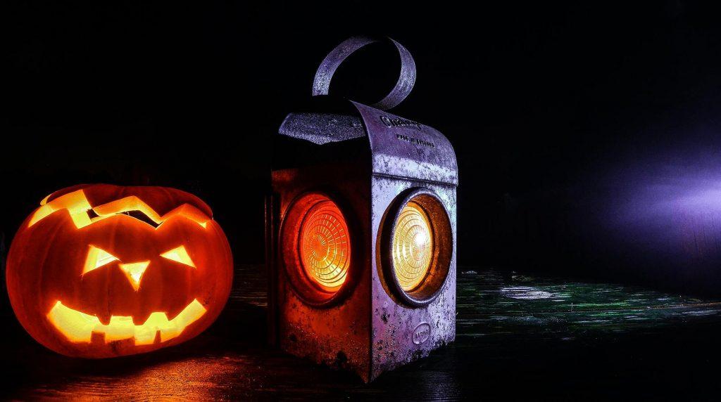 Pumpkin And Lantern