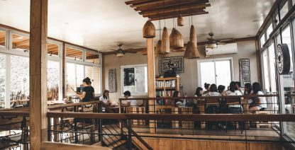 A Laid-back Breakfast Cafe