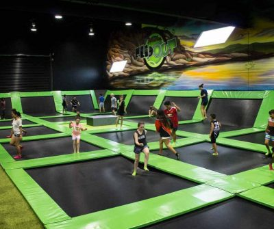 Flip Out Darwin, the only indoor trampoline park in Darwin