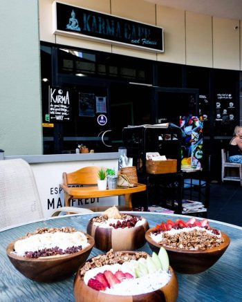 Karma Cafe with Its Health and Fitness-themed meals