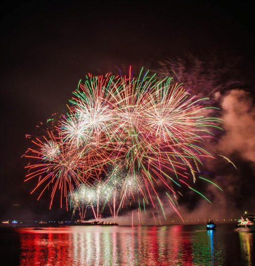 New Year Countdown and Fireworks Extravaganzas