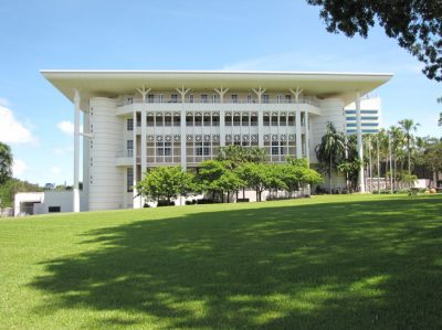 Parliament House in Darwin CBD