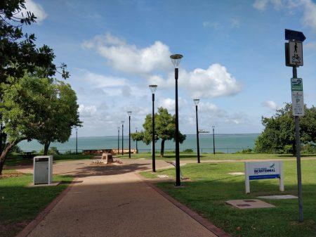 The Esplanade in Darwin CBD