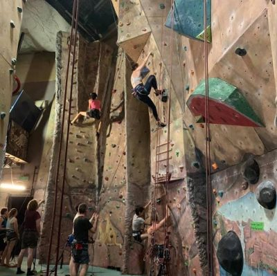 The Rock Centre, the only indoor climbing gym in Darwin